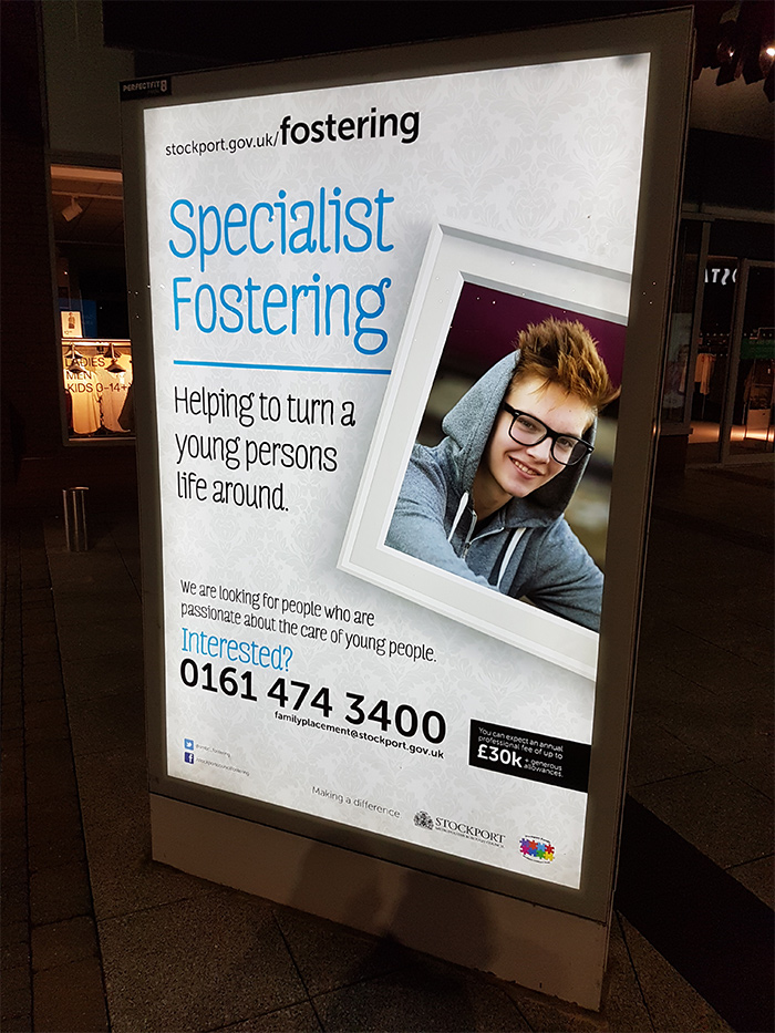 Stockport Council's fostering team