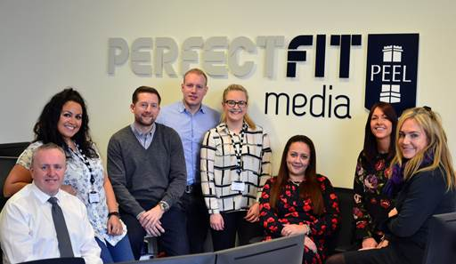 Perfect Fit Media have moved into MediaCity UK's latest creative office space concept