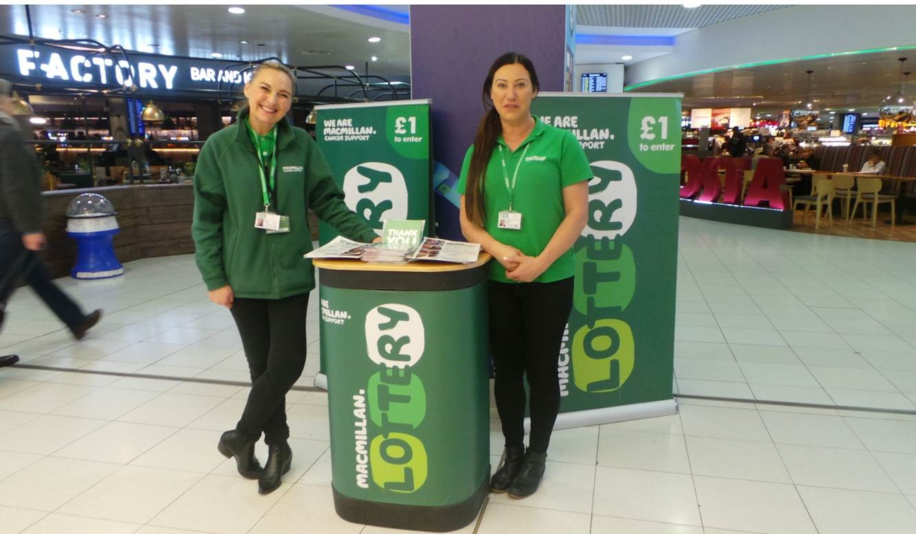Macmillan Lottery - BRC Promotions